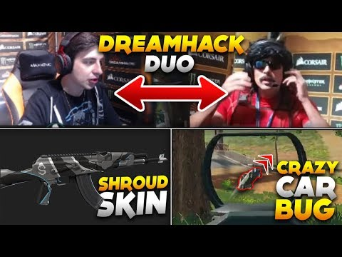 Shroud DrDisRespect Owning at the Dreamhack Tournament | Shrouds Skin Ingame - PUBG Moments 210