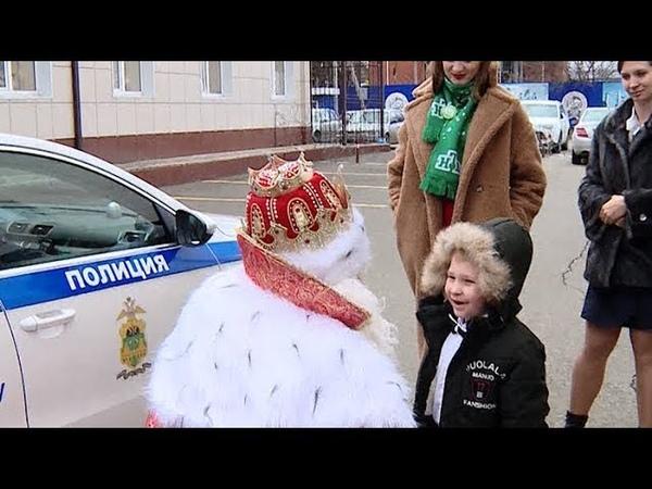 Счастливое письмо всероссийский Дед Мороз встретился с писавшими ему детьми из Краснодара