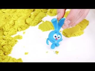 Смешарики Live и Дядя Бу Крош тест новой игрушки