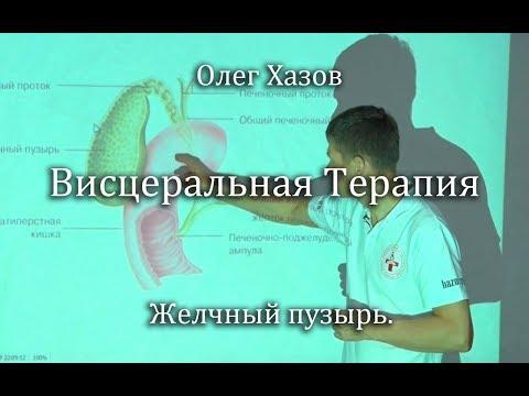 Висцеральная терапия. Желчный пузырь. Олег Хазов