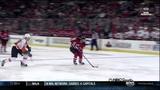 Claude Giroux great backcheck 22 Jan 2013 Philadelphia Flyers vs NJ Devils NHL hockey