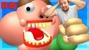 Нас СЪЕЛ толстяк БОБ в РОБЛОКС😨Funny games Прохождение ОНЛАЙН игры для детей Мульт игры ТОП обби👍
