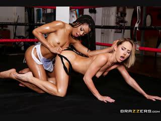 Carter cruise, kira noir (slippery showdown) секс порно