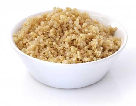 Квиноа можно есть на безглютеновой диете.