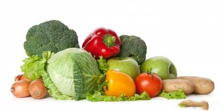 Овощи, как правило, не содержат глютена.
