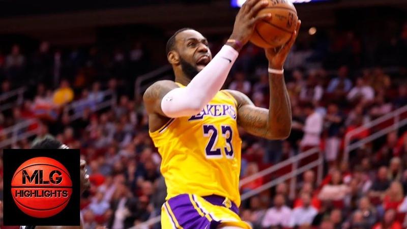 Los Angeles Lakers vs Houston Rockets 1st Half Highlights | 12.13.2018, NBA Season