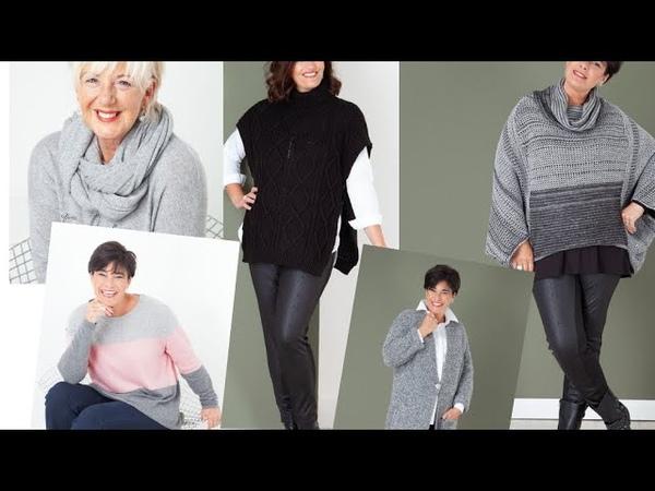 Осенне-зимний гардероб для женщин после 60. Сколько красоты!