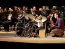 Маленький барабанщик Леня Шиловский - Выступление с концертным духовым оркестром.mp4