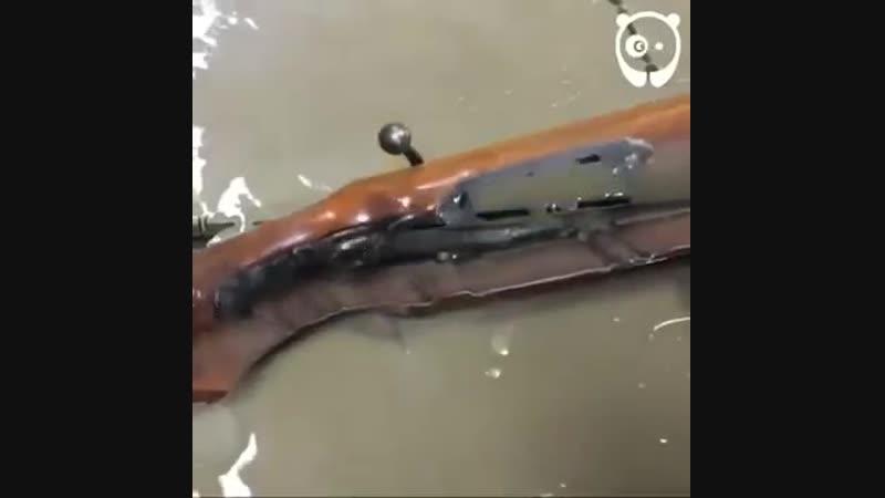 Струя воды. Просто залипательное видео