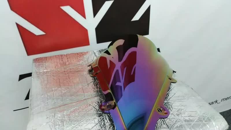Ветровое стекло с градиент ом на yzf 1000