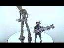 [xenom0rph Eng] Hot Toys MMS476: Avengers Infinity War - Groot Rocket set 1/6
