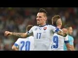 SLOVAKIA vs CZECH REPUBLIC 1 - 2 ALL GOALS HIGHLIGHTS