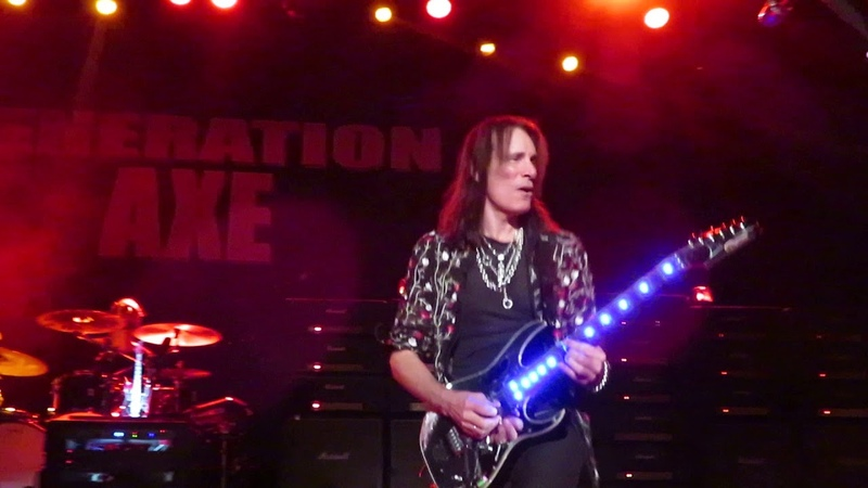Steve Vai - There's a Fire in the House (Brady Theatre, 17.11.18)