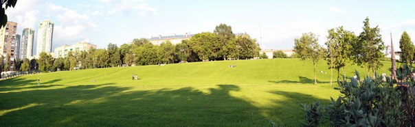 Обожая Москву за то, что тут есть целый поля с газоном по которому не стрёмно ходить и лежать, загорать, читать книгу, пикничать