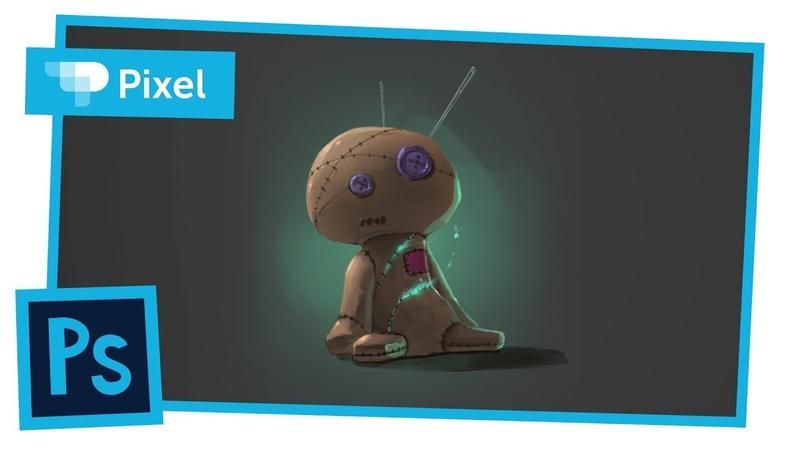 Рисуем куклу вуду в Photoshop (школа Pixel)