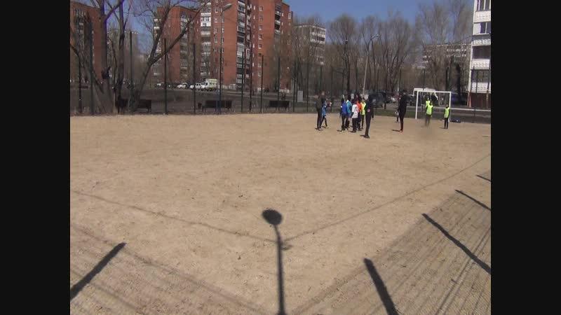 Фрагмент турнира по мини футболу. Май 2018_1