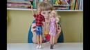 Куклы Барби и Кен одевалки. Шоппинг Барби и Кена. Распаковка одежды Кена. Barbie Shopping with Ken