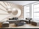 3d обои в интерьере комнаты. 95 оригинальных идей дизайна.