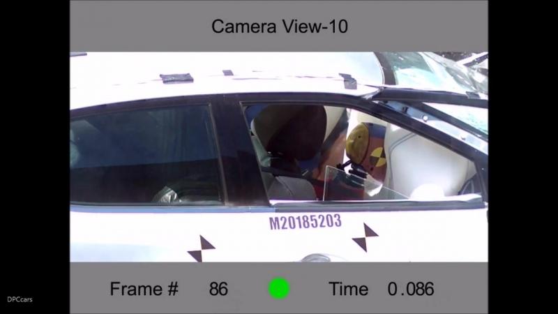 2018 Nissan Maxima S Crash Test Rating