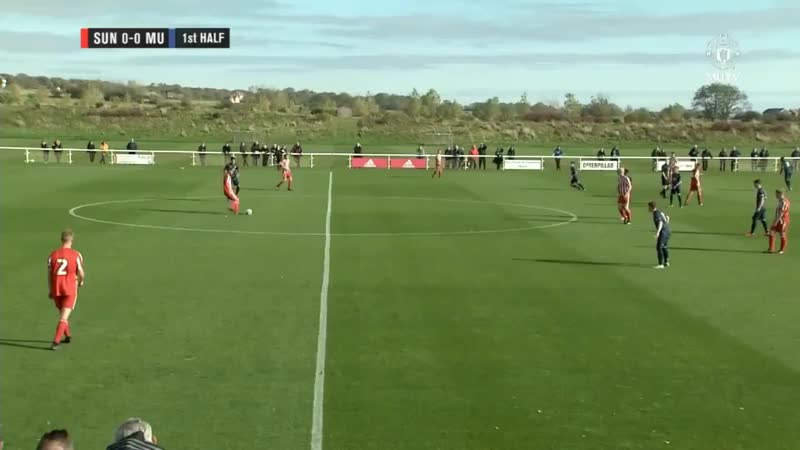 Sunderland 0 - 7 Manchester United Mason Greenwood X2, Aliou Traore X2, Charlie McCann, Ethan Laird DMani Mellor U18 MUFC -