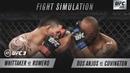 EA SPORTS UFC 3 UFC 225 SIM - Whittaker Vs Romero Covington Vs Dos Anjos