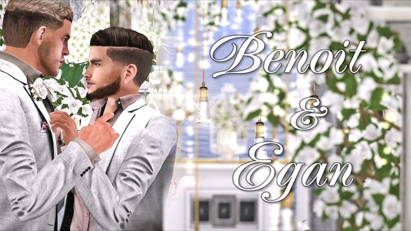 Benoit Egan.Second Life Wedding. June 3th, 2018