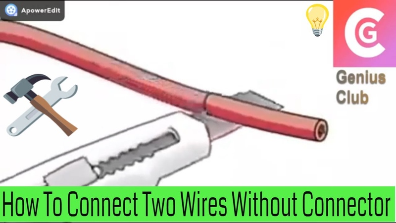 How to connect two wires without connector how to connect two wires without soldering