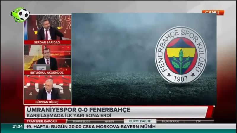 Fenerbahçe Transfer Raporu Serdar Sarıdağ Gürcan Bilgiç Yorumları