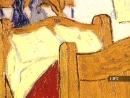 Палитры 16 серия Высокая жёлтая нота. «Спальня в Арле»Винсента Ван Гога1888—1889,Музей Винсента Ван Гога,Чикагский институт