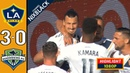 LA Galaxy 3-0 Seattle Sounders All goals Highlights Commentary 2018 FHD 1080P