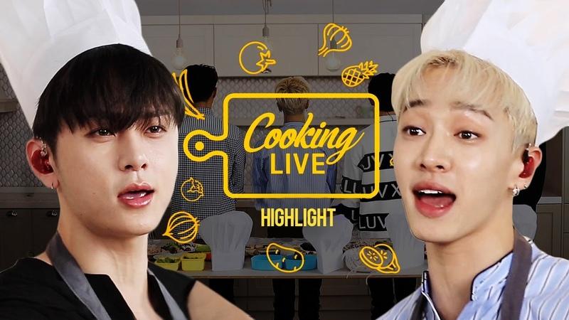 Highlight - Plz Dont Be Sad [Cooking Live] • ENG SUB • dingo kdrama
