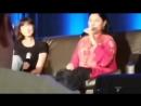 WWC2018 Панель Катрины Балф и Дианы Гэблдон