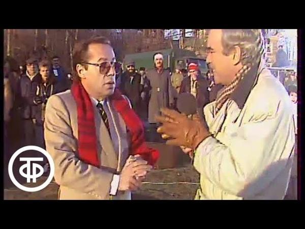 До и после полуночи Игорь Кио повторяет знаменитый фокус Г Гудини на Останкинском пруду 1990