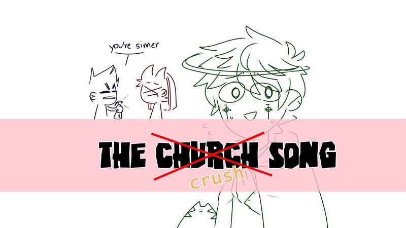 [Eddsworld AU] The crush songAnimaticshitpost03