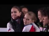 Алина Загитова и Александра Трусова -