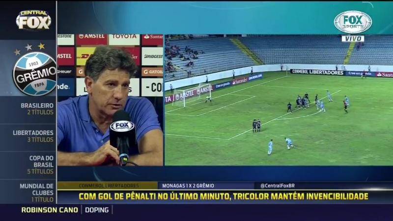 Renato Portaluppi, O MUNDO PRECISA OLHAR PARA VENEZUELA