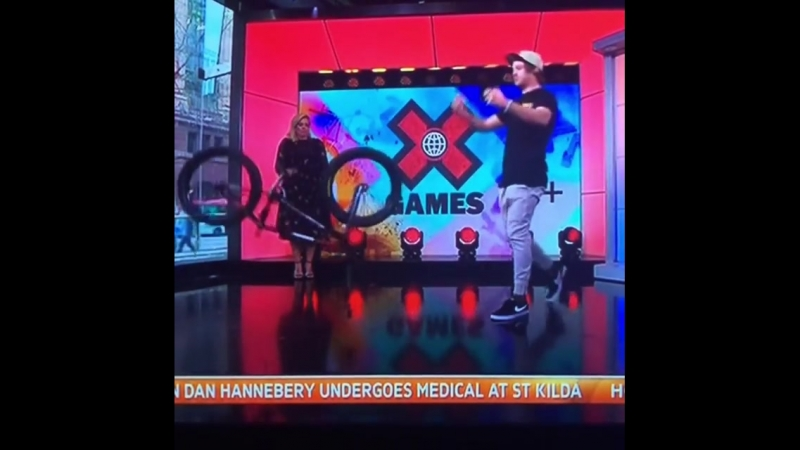 Rwillyofficial Epic Fail On Live Television!💥🚲