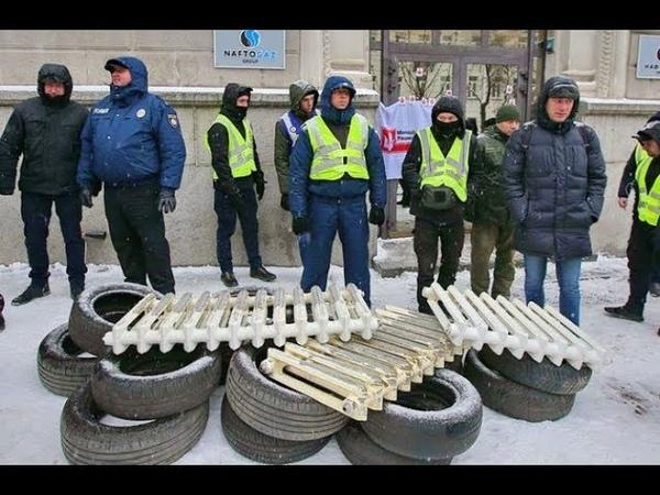 Снимайте колеса – и на Мaйдaн: отчаявшиеся укpаинцы блокируют дороги из-за отсутствия отопления...