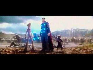 Тор Грут Ракета   Мстители Война Бесконечности 2018