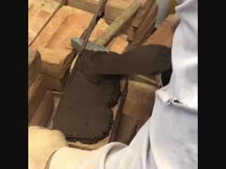 Так называемая кладка на пруток - Строим дом своими руками