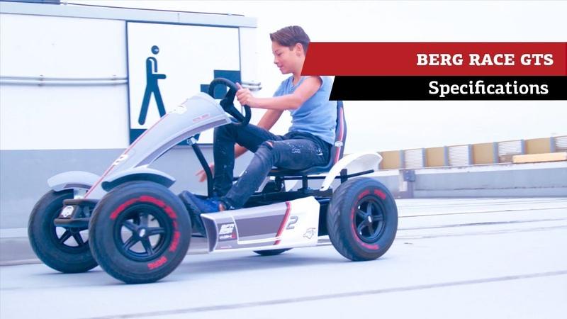 BERG Race GTS pedal gokart specifications