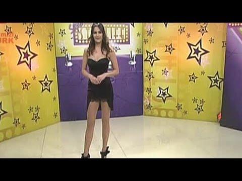 Tuğba Karaca Küce Beautiful Turkish Tv Presenter 30.12.2011
