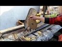 Отрезной станок по металлу из торцовочной пилы