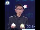 동영상, Fastest Time To Solve Three Rubiks Cubes Whilst Juggling., 길이 3분, 24초
