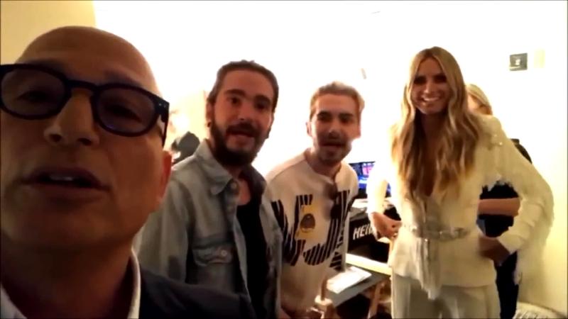 Kaulitz Twins at America's Got Talent Facebook Live - 14.08.2018