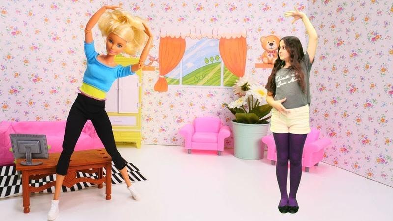 Barbie baleye başladı. Barbie oyunları.