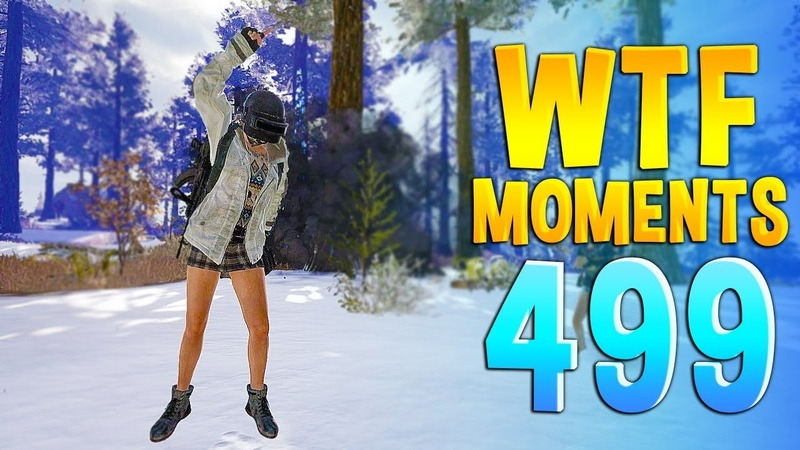 PUBG Daily Funny WTF Moments Highlights Ep 499
