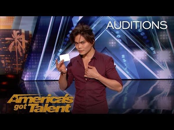 Shin Lim Magician Blows Minds With Unbelievable Close-Up Magic - Americas Got Talent 2018