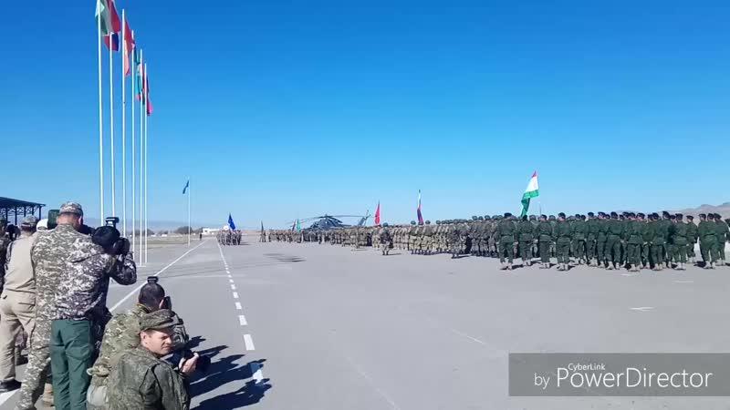 Ученые международного ОДКБ Поиск 2018 Отар участники Развет полк Талдыкургана из КАЗАХСТАНА