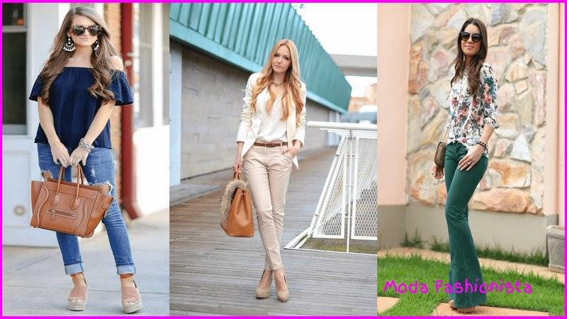 Ropa moderna para mujer 2018 I Combinaciones de ropa de moda